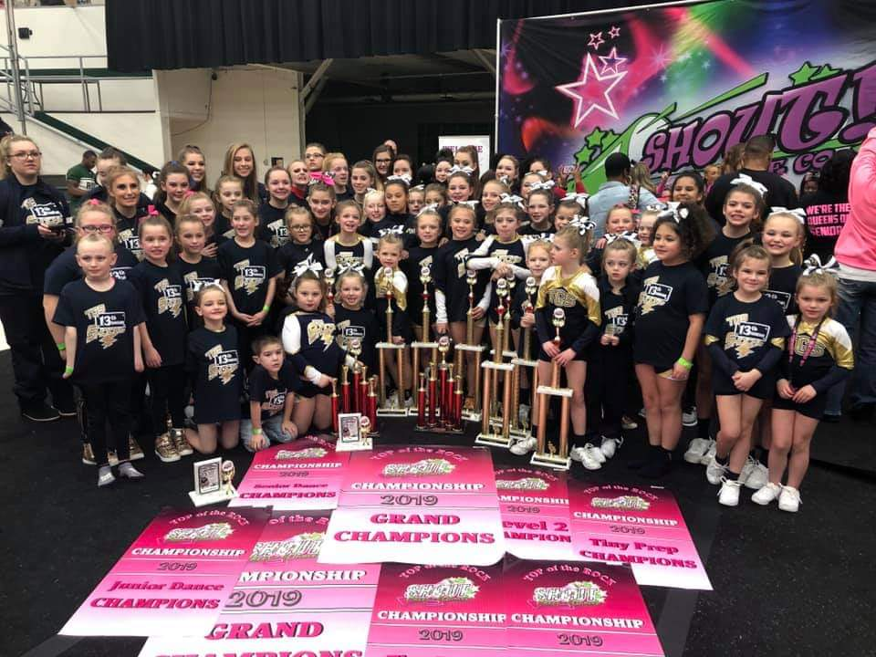 Shocks win it ALL at Shout!