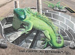 Bucerias Chalk Art Festival