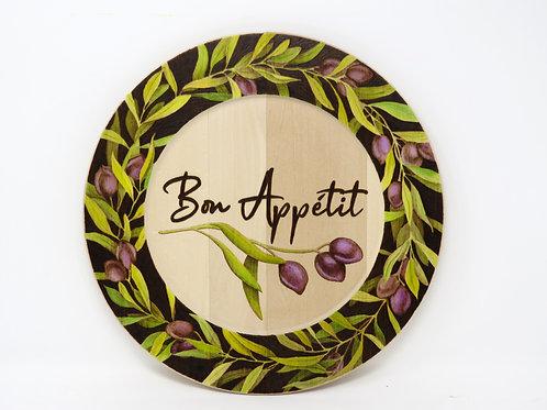 Bon Appetit Plate