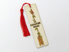 Bookmark- 6- Option for color and tassel