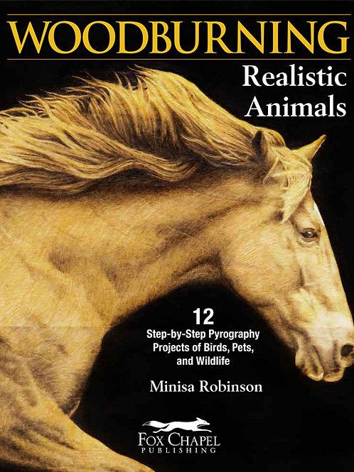 Woodburning Realistic Animals