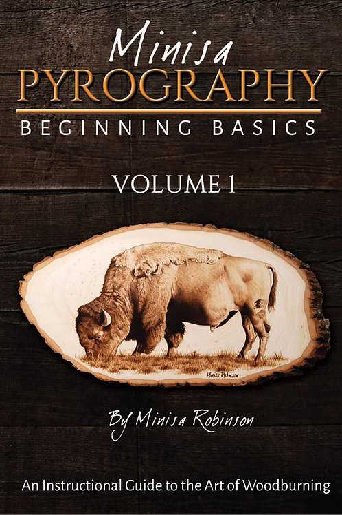 Beginning Basics of Woodburning: Volume 1