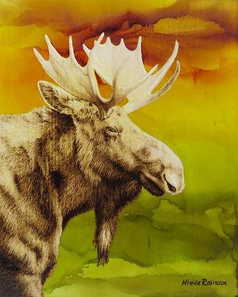 Moose in Autumn