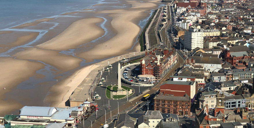 Blackpool North View From the tower
