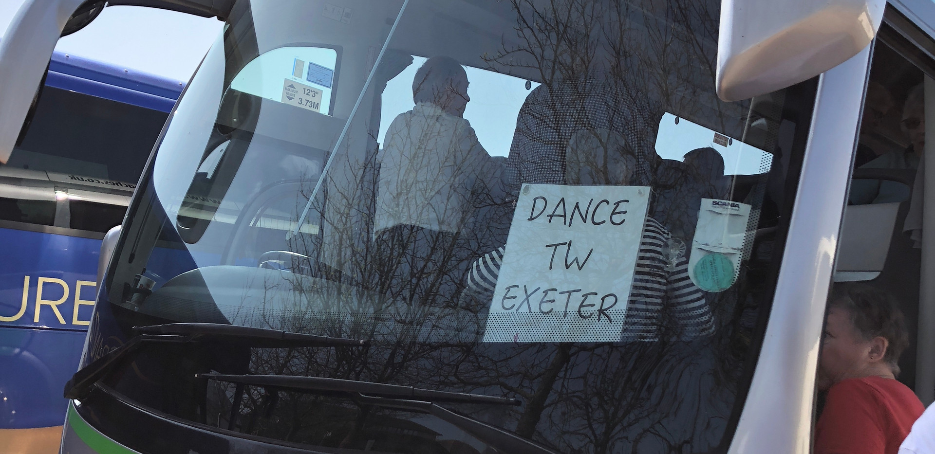 Dance TW Exeter on tour