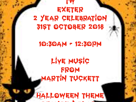 2 Year Celebrations & Halloween