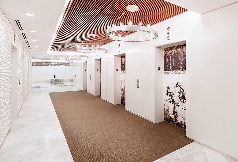 Lignum Interiors General Contracting Lobby
