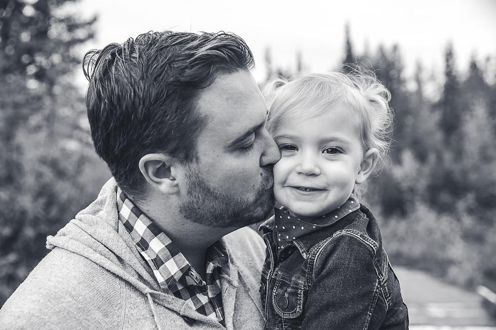 Father & Daughter Portrait
