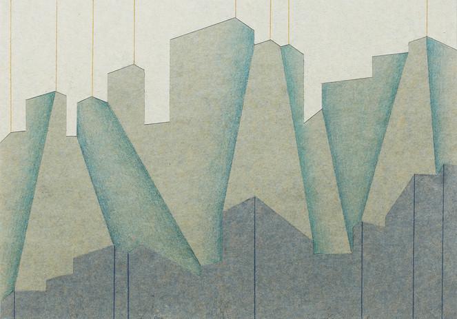 5. 유연한 공간 19-02, 21x30cm, colored pencil