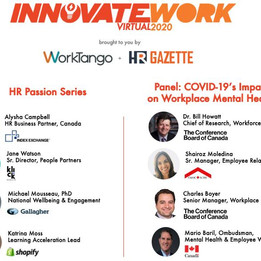 InnovateWork Virtual Conference 2020 HR Passion Series