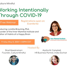 Working Intentionally Through Covid-19