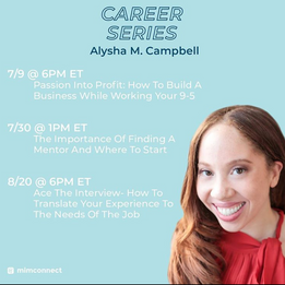 Career Series with MIMConnect