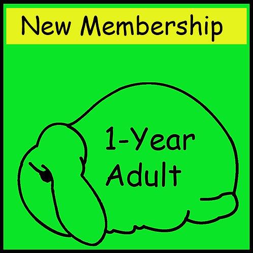 New Membership - ADULT [1-year]