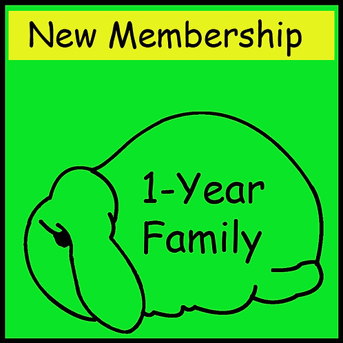 New Membership - FAMILY [1-year]