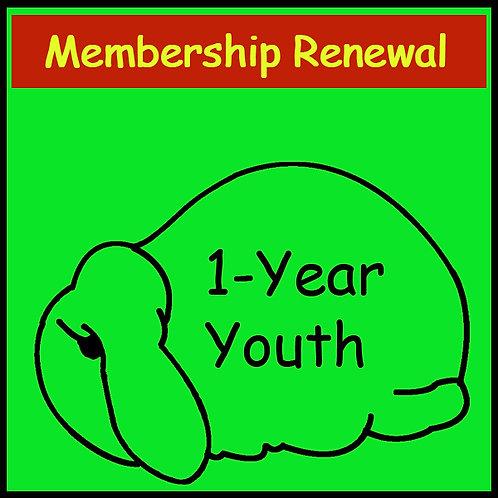 Membership Renewal - YOUTH [1-year]