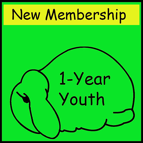 New Membership - YOUTH [1-year]