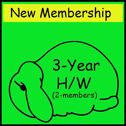 New Membership - 2 person household [3-year]