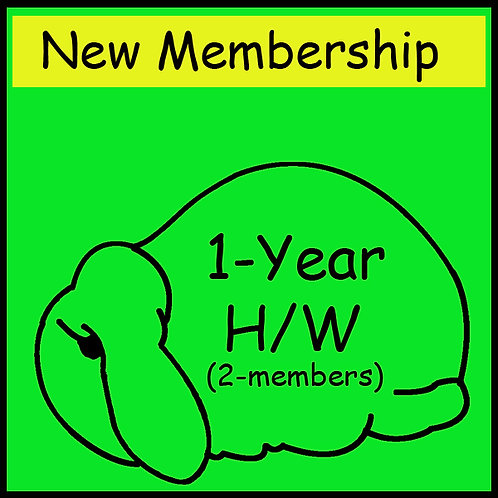 New Membership - 2  Person  Household  [1-year]