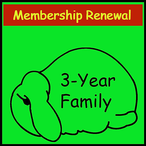 New Membership - FAMILY [3-year]