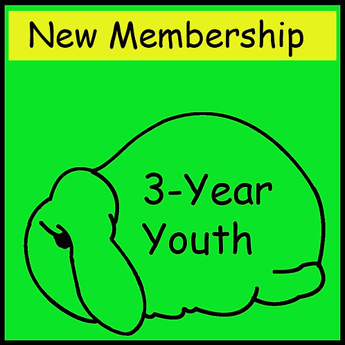 New Membership - YOUTH [3-year]