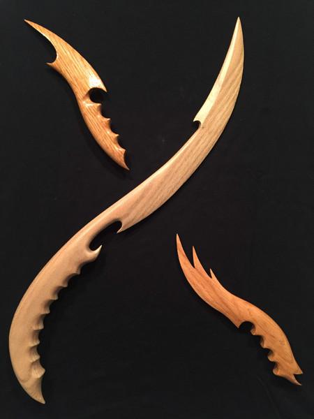 Wooden Blades!