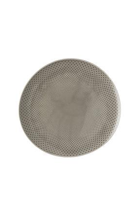 Junto Pearl Grey Speiseteller 27 cm (Relief auch innen)