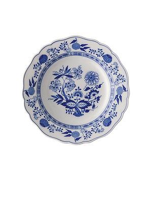 Blau Zwiebelmuster Suppenteller 23 cm Fahne