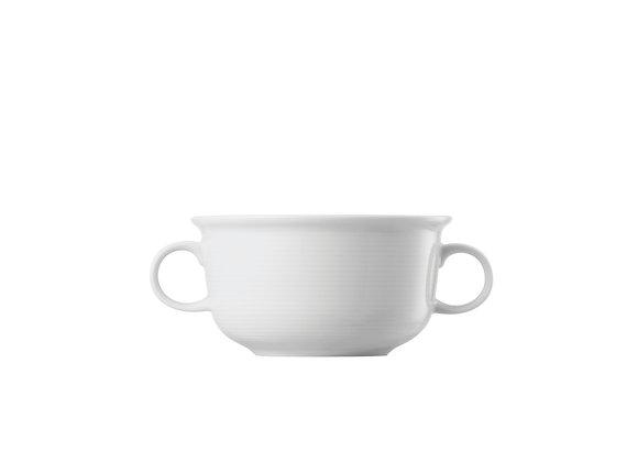 Trend Weiß Suppen-/Boillon-Obertasse m. Henkeln