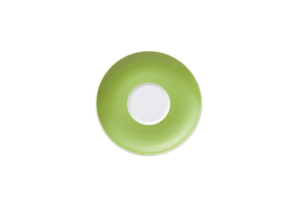 Sunny Day Apple Green Cappuccino-/Jumbo-Untertasse
