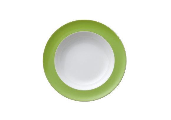 Sunny Day Apple Green Suppenteller
