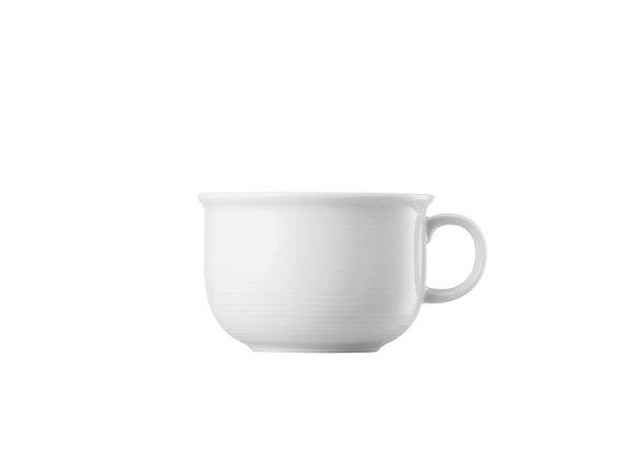 Trend Weiß Frühstücks-Obertasse