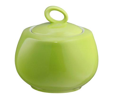 Trio Apfelgrün Zuckerdose