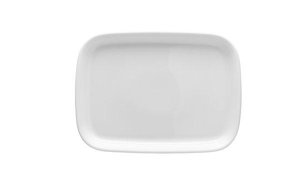 Trend Weiß Platte 33 cm