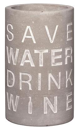 """Weinkühler """"SAVE WATER DRINK WINE"""""""