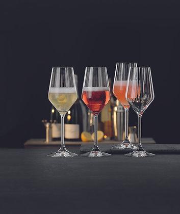 LifeStyle Sparkling Cocktail Gläser, Champagnergläser, 4er-Set