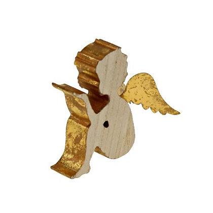 Engel m. goldenen Flügeln