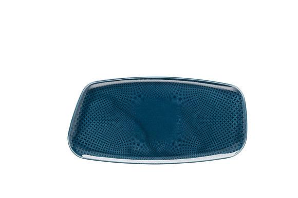 Junto Ocean Blue Platte 30x15 cm