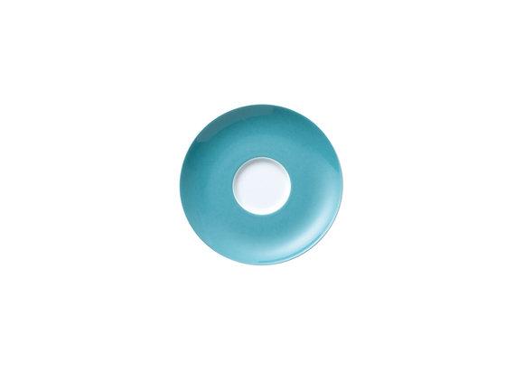 Sunny Day Turquoise Tee-/Kombi-Untertasse