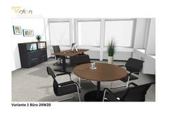 Visualisierung Einzel-Büro