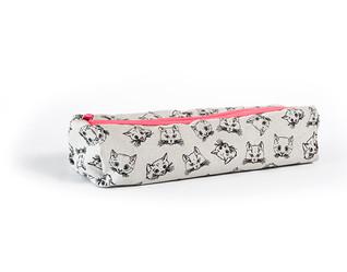 Kedi Baskı Kalem Kutusu - Sublimasyon Baskı