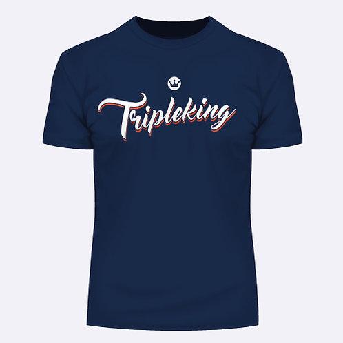 TripleKing T-Shirt Attached Navy
