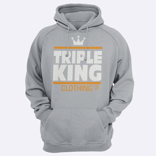 TripleKing Clothing Co Hoodie Grey