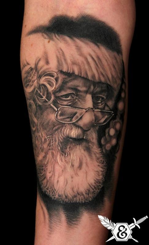 tattooer: Russ Abbott