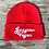 Thumbnail: Gangster Vegan Lightweight Winter Cotton Beanie hat for Kids and Adults