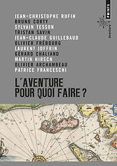 """Couverture du livre """"L'aventure pour quoi faire ?"""""""