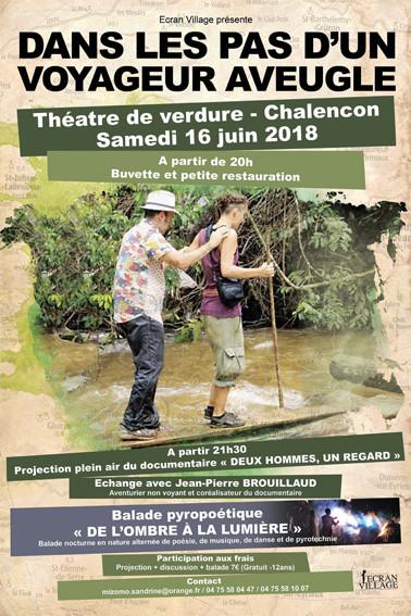 Affiche pour la rencontre du 16 juin avec Jean-Pierre Brouillaud.