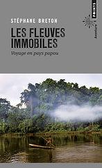 """Couverture du livre """"Les fleuves immobiles"""""""