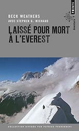 """Couverture du livre """"Laissé pour mort à l'Everest"""""""