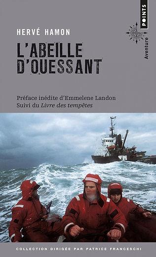 """Couverture du livre """"L'Abeille d'Ouessant"""""""