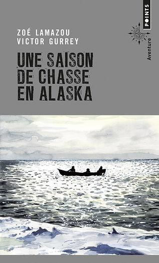 """Couverture du livre """"Une saison de chasse en Alaska"""""""